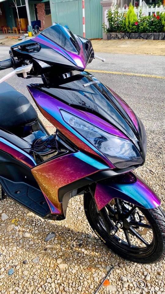 Dòng xe AirBlade được sơn full đổi màu chuyển 4D