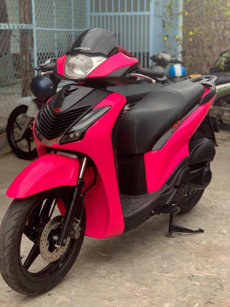sh sporty màu hồng