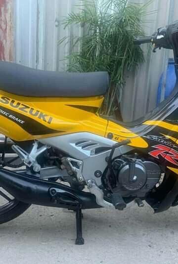 Sơn Xe Sport Suzuki Vàng Đen – Sơn Dọn Tân Trang